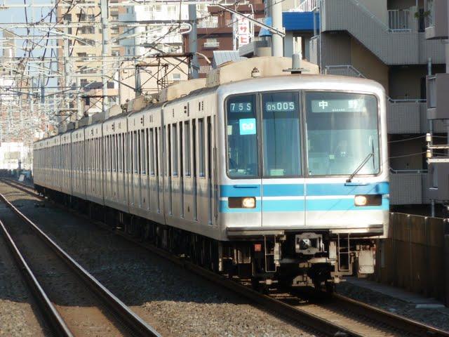 東京メトロ東西線 中野行き2 05系幕式