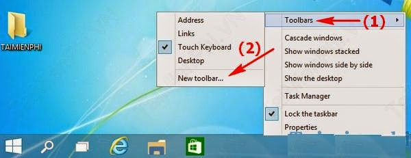 Ghi tên hay biệt danh khác trên thanh Taskbar của win 10 dễ dàng