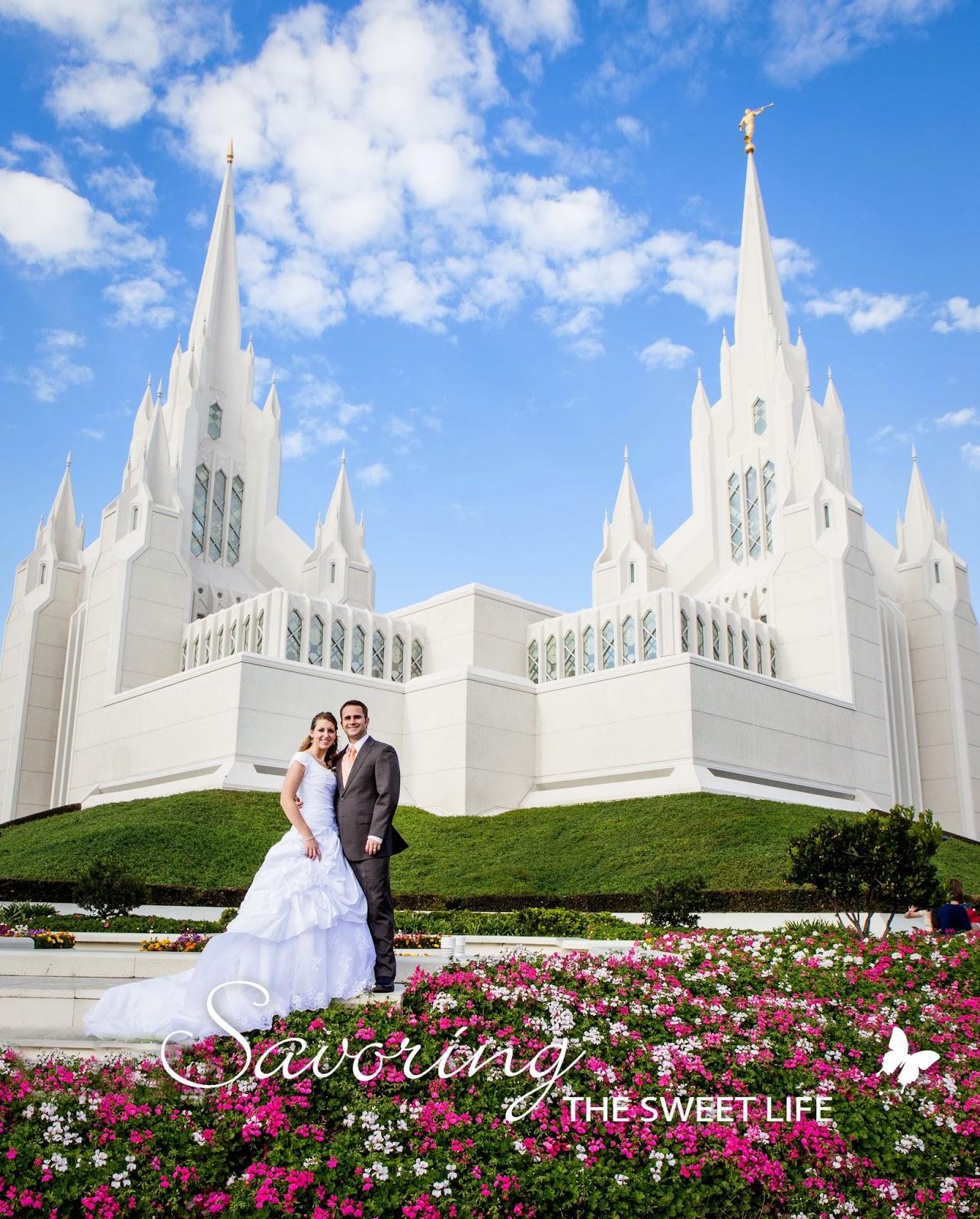 A Kinda Sad But Ultimately Sweet Story Kara And Ryans Wedding Portraits San Diego LDS Mormon Temple Engagement Photographer