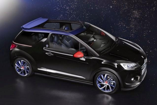 DS3 Inès de la Fressange cabriolet 2015, concept de marque célébrité Ines de la Fressange extension de marque
