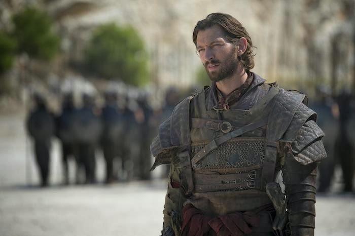 Michiel Huisman interpreta a Daario Nahari en la 4ª temporada de Juego de Tronos