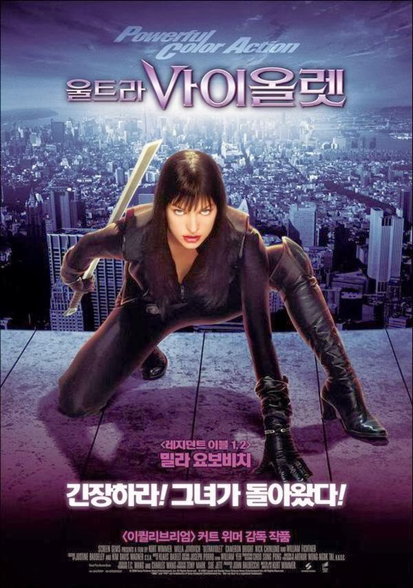 100 Years of Movie Posters: Milla Jovovich