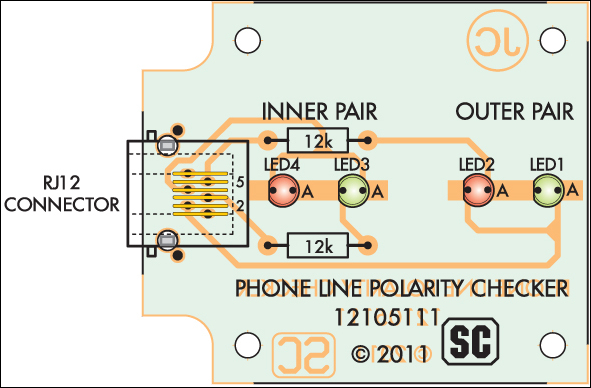 phone line polarity checker
