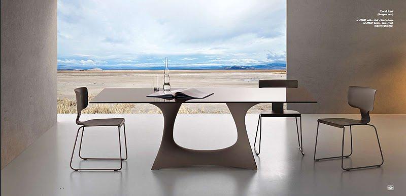 Contempor neo y elegante mobiliario para exterior de for Mobiliario contemporaneo