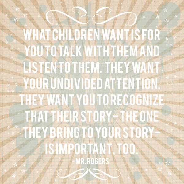 What Children Want… Printable from Blissful Roots