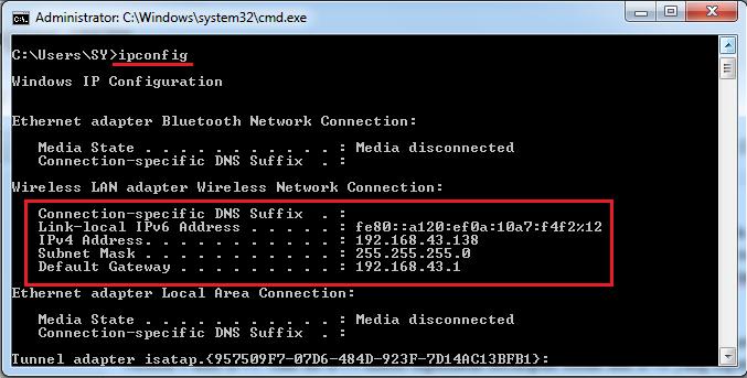 Cara Mengetahui IP Address Komputer Sendiri