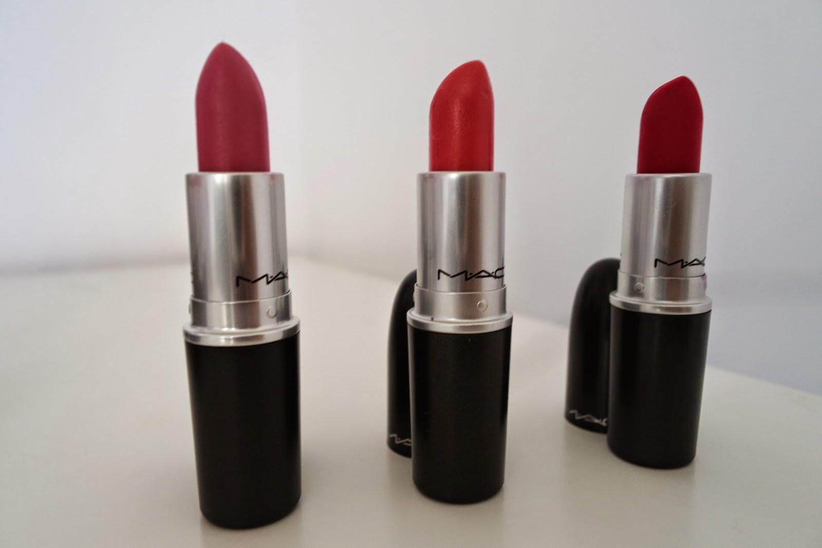 Mac cosmetics, lipstick