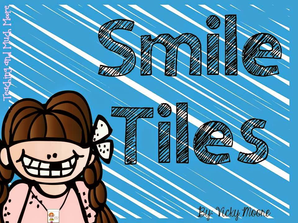 http://www.teacherspayteachers.com/Product/Smile-Tiles-behavior-and-academic-rewards-to-wear-home--1176092