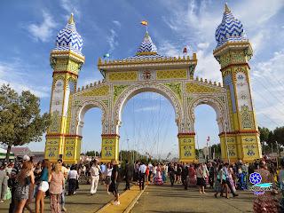 Feria de Sevilla 2014 La Portada de día