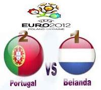 Portugal vs Belanda 2-1