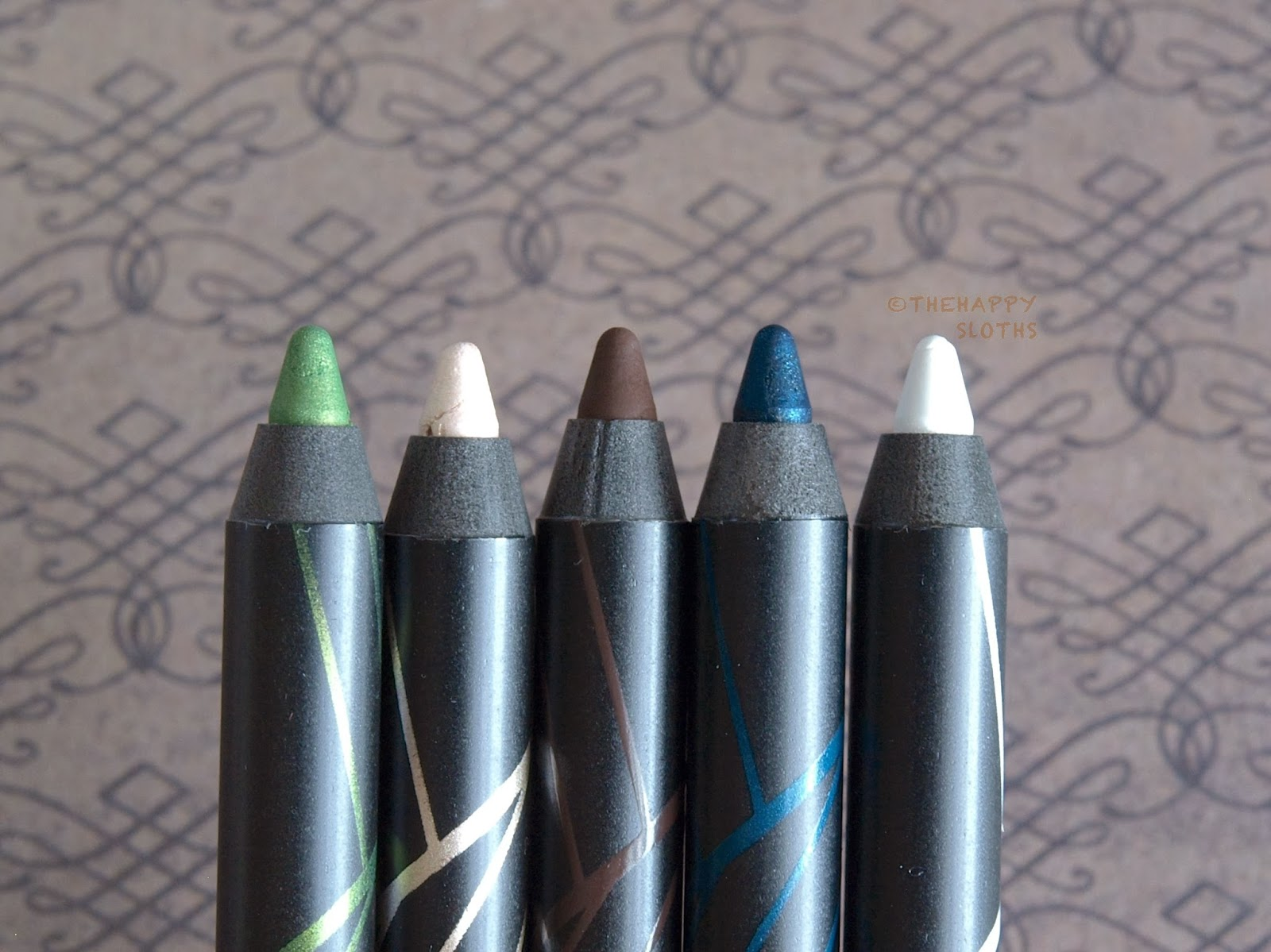 La Girl Line Art Matte Eyeliner Review : L a girl gel glide eyeliner pencils review and swatches the