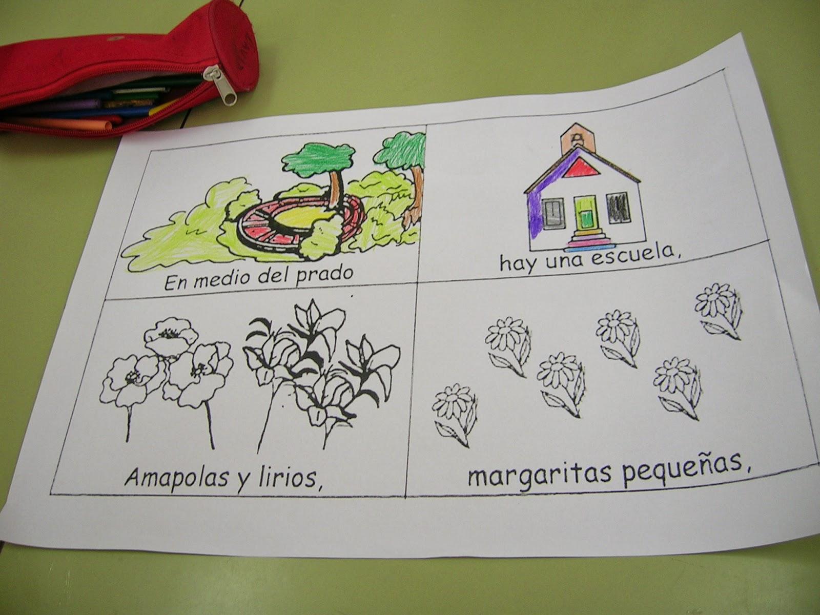 Trabajando en Educación Infantil: La maestra de las flores