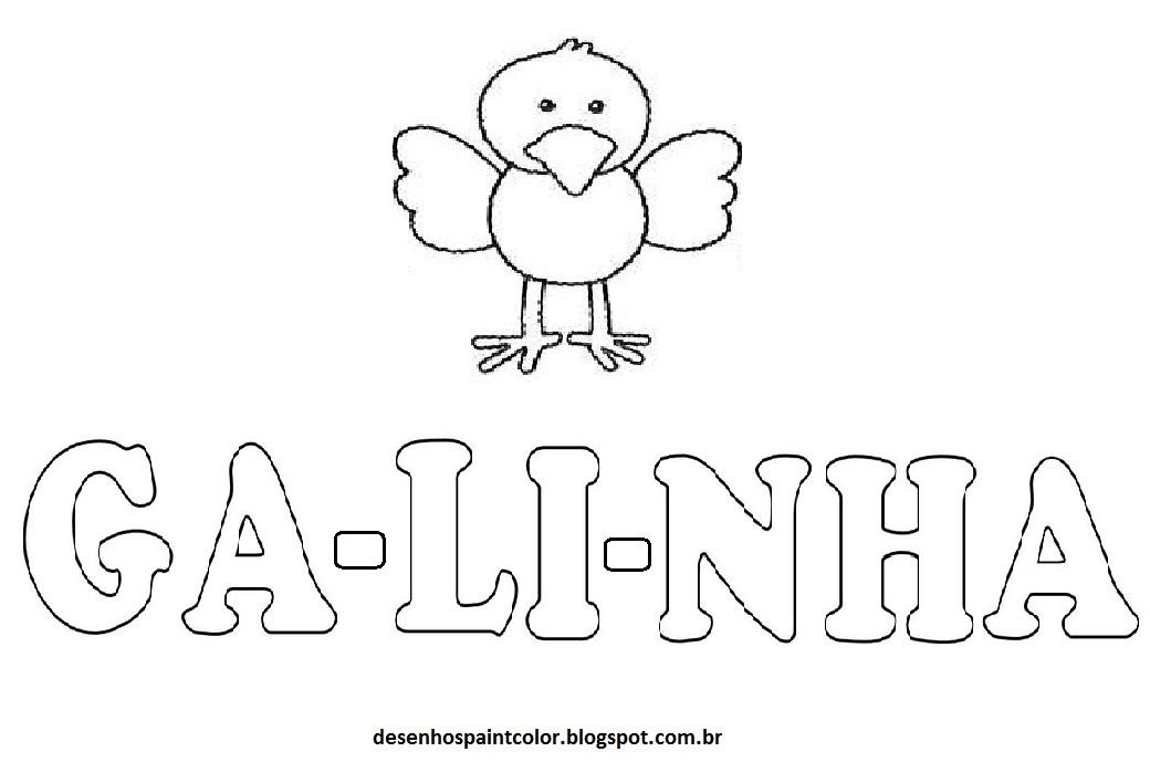 desenho de galinha para imprimir e pintar clique na imagem para