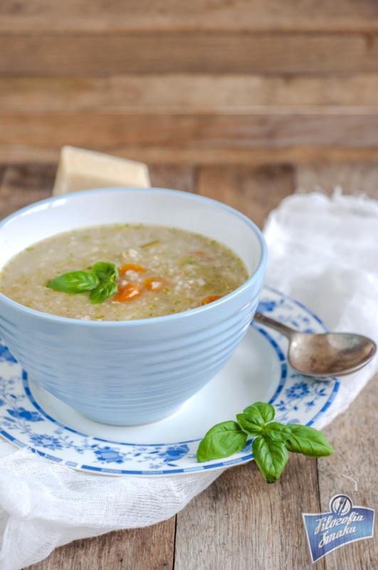 Zupa z kaszą jęczmienną przepis