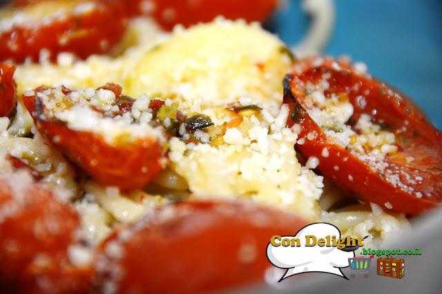 פסטת עגבניות שרי Cherry tomato pasta Con Delight