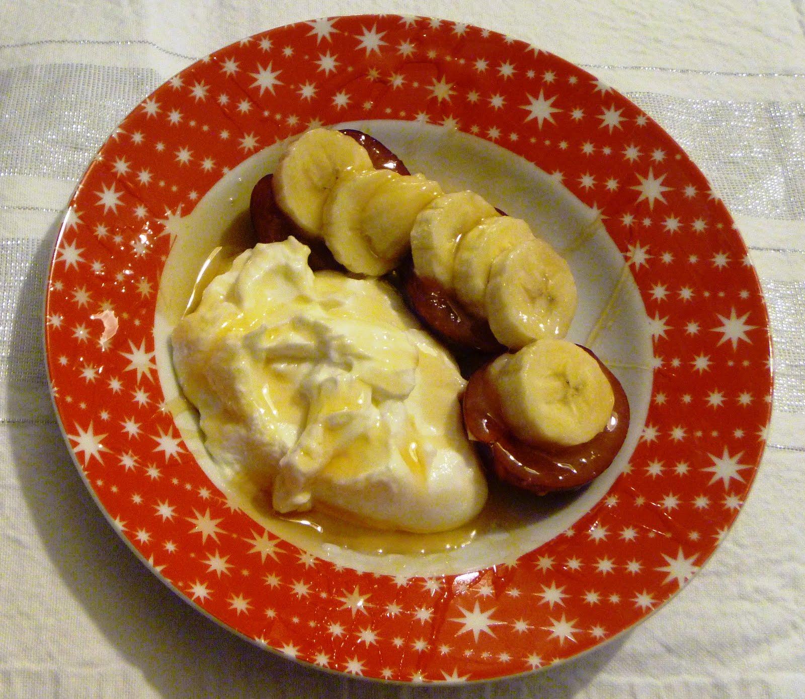 Banana Greek Yoghurt Cake