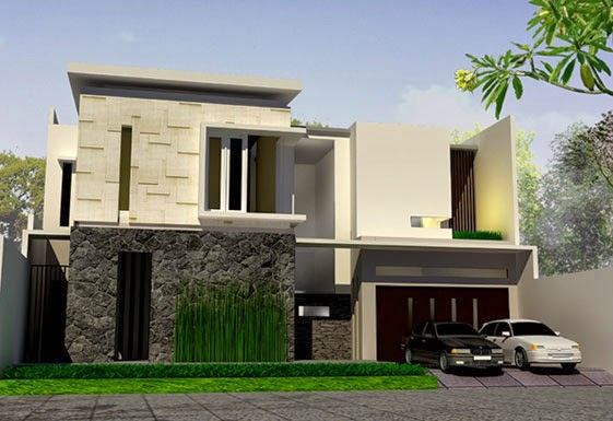 desain rumah mewah keren 2 Lantai - gambar 09