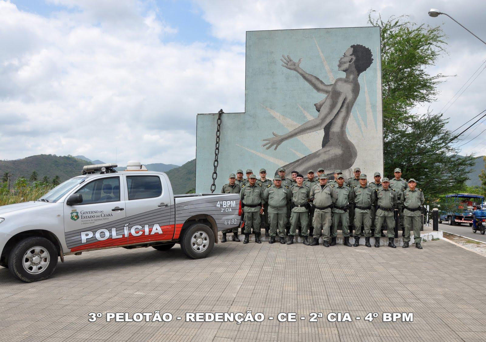 policia militar do ceara - 3º pelotão Redenção - ce