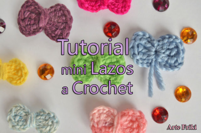 videotutorial tutorial patron lazo bow pattern how to crochet como tejer ganchillo arte friki