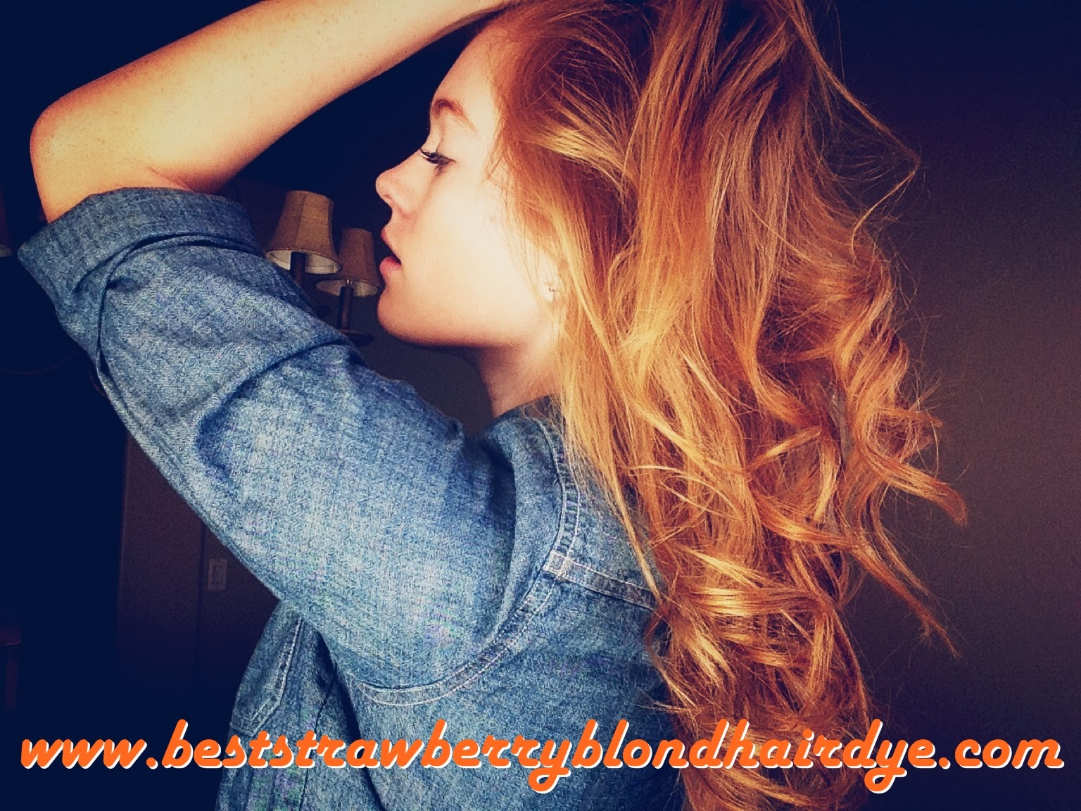 the best strawberry blonde hair dye