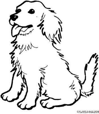 Line Drawing :: Clip Art :: Dog