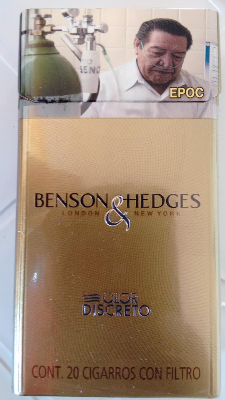 benson hedges dorados fumo fumo y no me canso. Black Bedroom Furniture Sets. Home Design Ideas