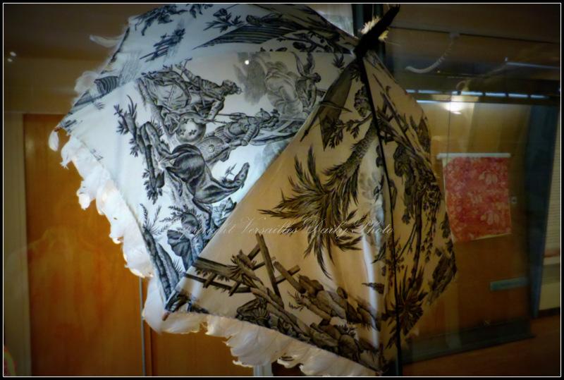 Hervé Matejewski Toile de Jouy umbrella