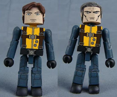 X-Men First Class Minimates - Professor Charles Xavier &amp; Magneto
