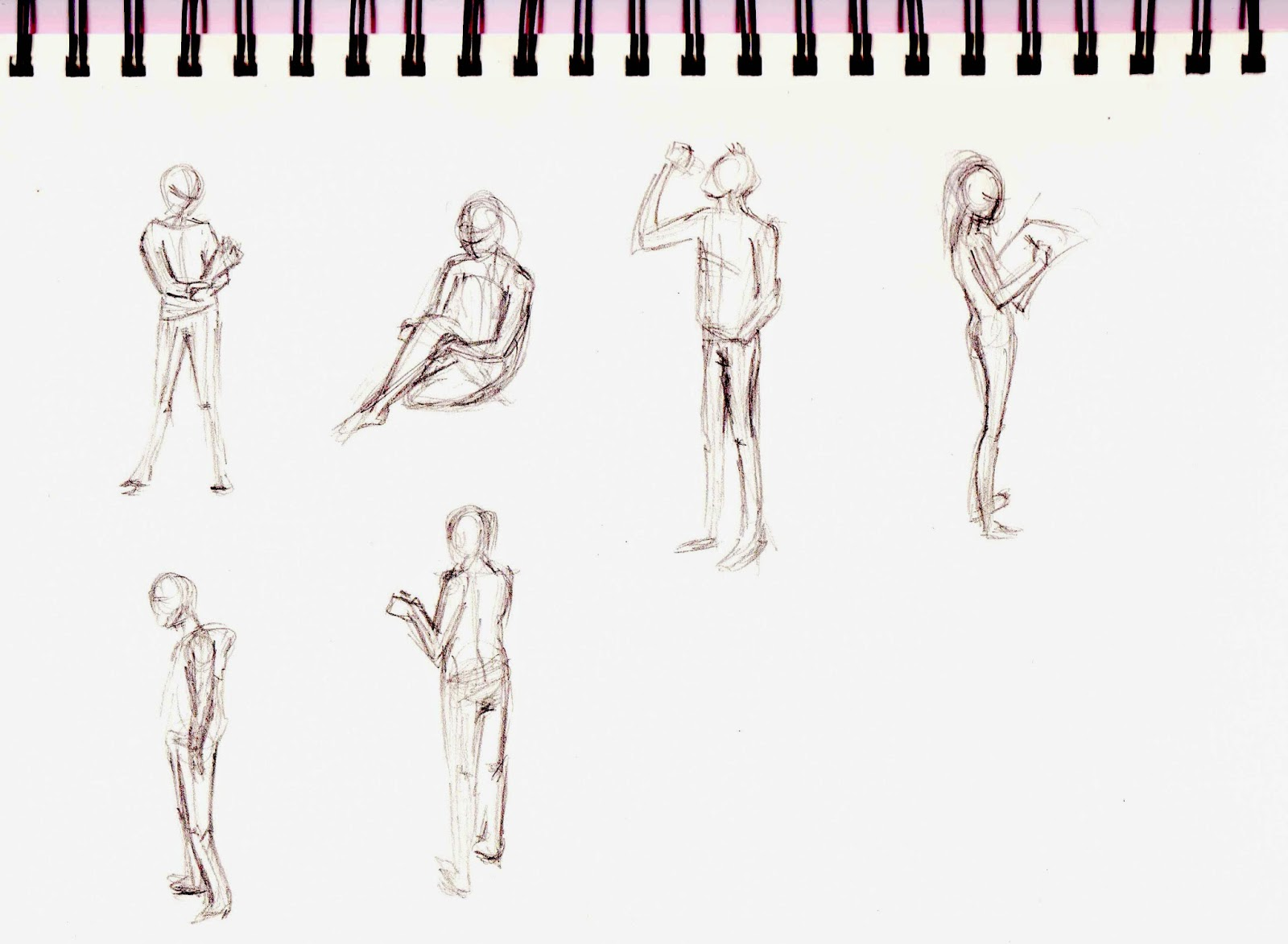 Charlotte Mosey Animation Anatomy And Poses Sketchbook Work