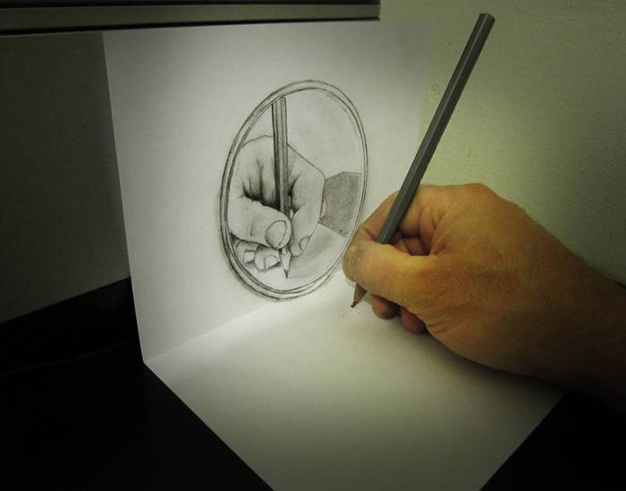 3D illusion Art of Alessandro