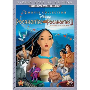 Pocahontas release date DVD Blu Ray