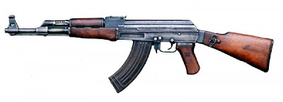Kalashnikov AK 47 Assault Rifle from Russia