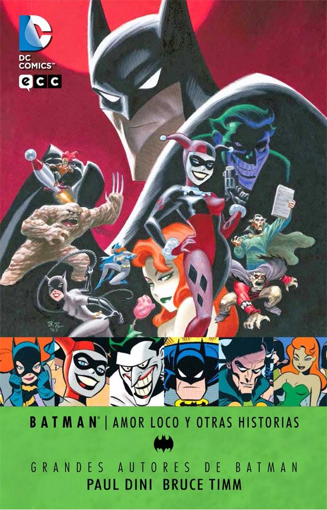 """Comic: Review de """"Amor loco y otras historias"""" de Paul Dini y Bruce Timm [ECC Comics]."""
