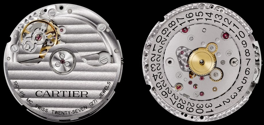 Calibre de manufacture Cartier 1904 MC