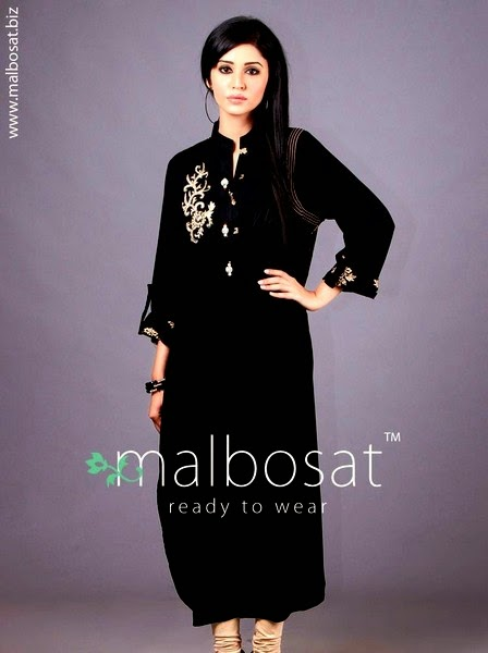 Malbosat Embroidered Ladies Kurta Fashion