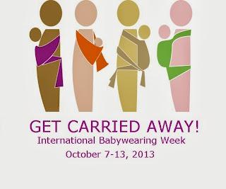 international babywearing week