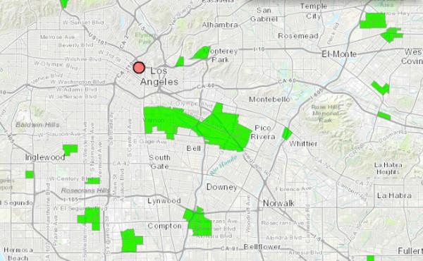 Food Deserts in Los Angeles