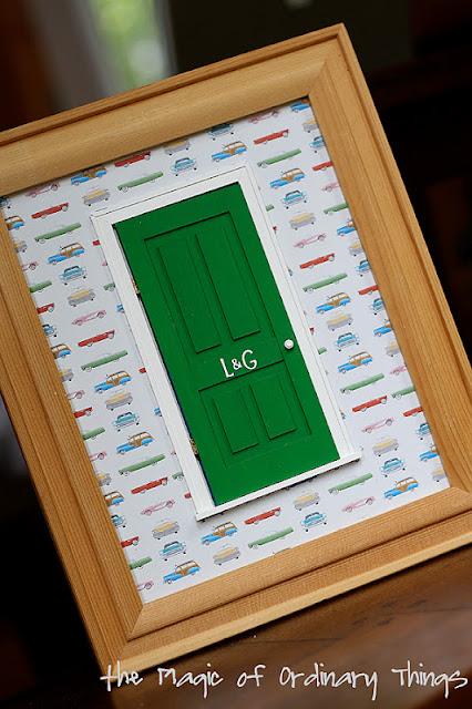 The magic of ordinary things tooth fairy door for Tooth fairy door