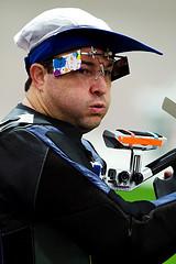 Carlos Garletti - Para-Tiro Esportivo