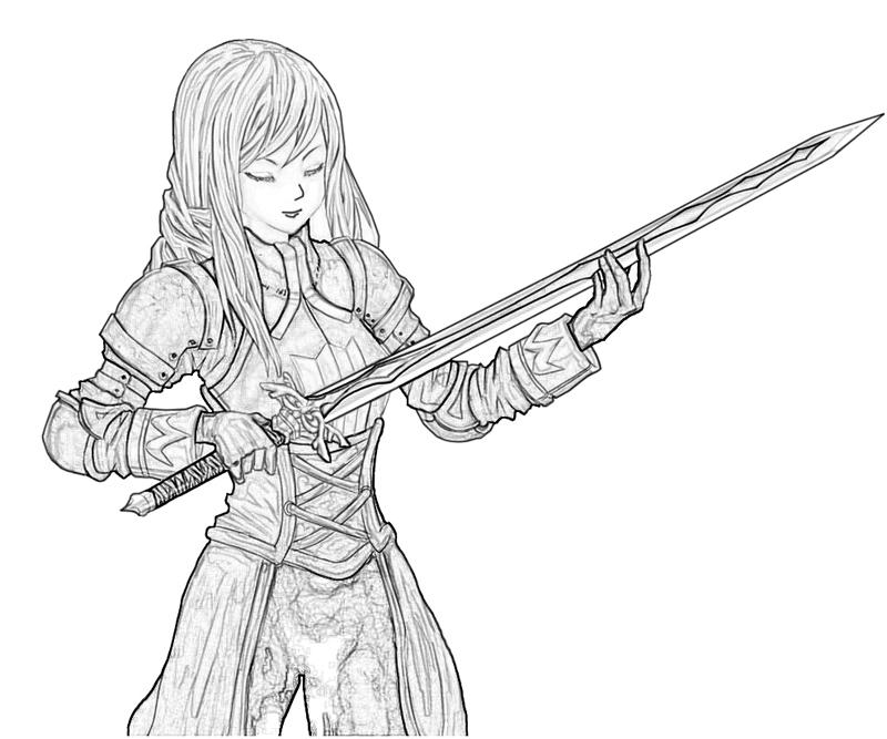 agrias-oaks-sword-coloring-pages