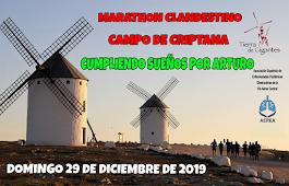 29-12-2019 V  MARATÓN CLANDESTINO CAMPO DE CRIPTANA