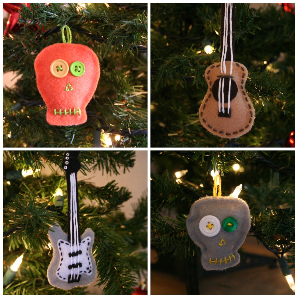 Musical instruments ornaments - The Ornaments All Turned Out So Cute I Love Them And Hopefully These Ornaments Will Be Pulled Out Every Year Until I Decide To Make More And Be