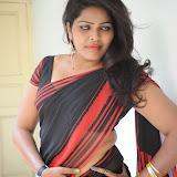 Sitara Hot Photos in Saree at Gundello Guchi Guchi Champake Movie Press Meet 40