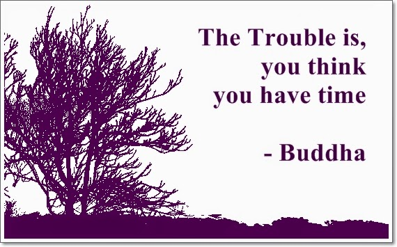 Buddha quote about time