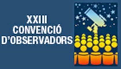 XXIII Convenció d'observadors de l'Agrupació Astronómica de Sabadell