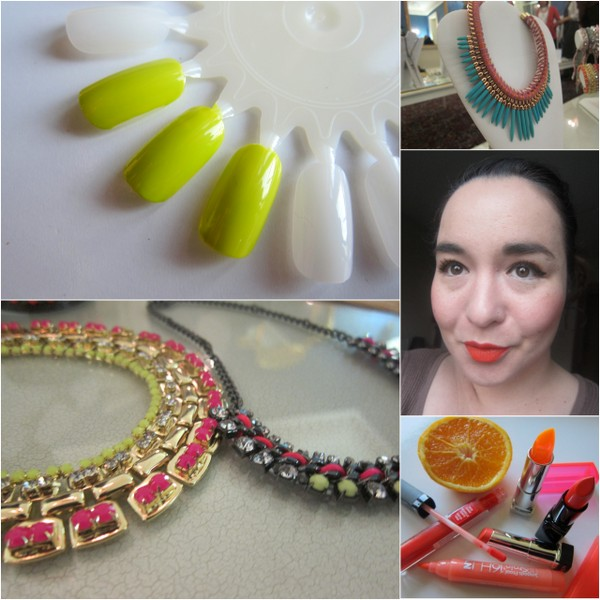 Key Trends for SS13: Neon, Orange, Bling