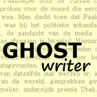 ghostwriter, voor uw verhaal