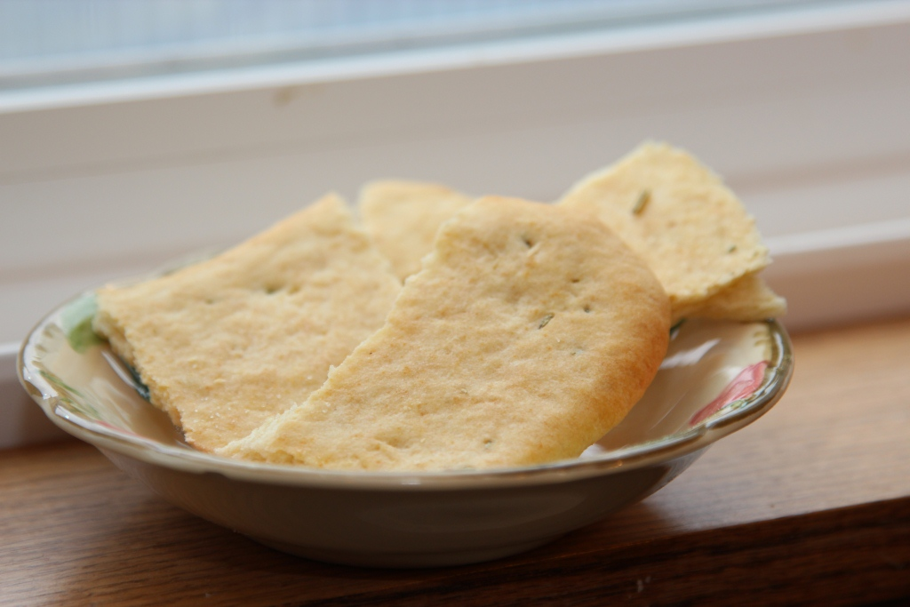... February 2013 Daring Bakers Challenge: Crisp Crackers and Flatbreads