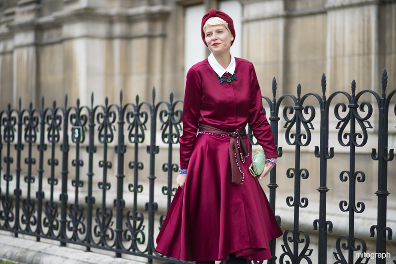 Elisa Nalin After Dries Van Noten Paris Fashion Week PFW