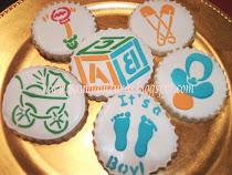 bautismo cookies souvenirs